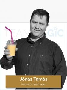 Jónás Tamás - Vezető manager